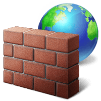 que es Firewall de Windows logo png