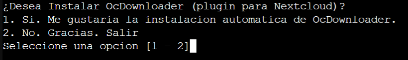 Instalar Nextcloud 5