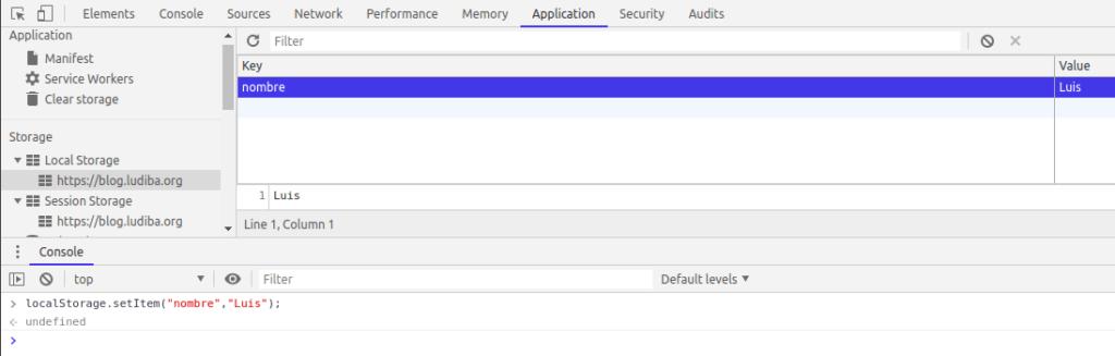 Local Storage y Session Storage Javascript 0
