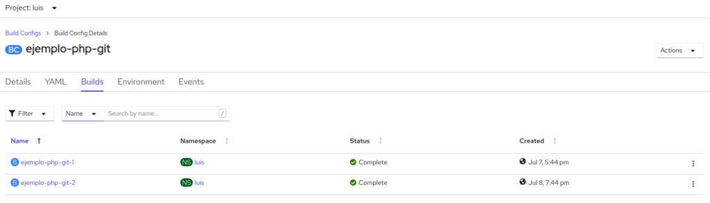 Tutorial OpenShift actualizado – [Primeros pasos] 3