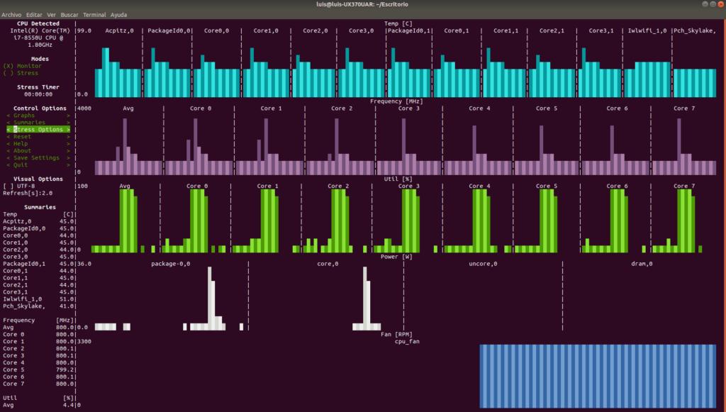 Probar CPU y otras pruebas de rendimiento (Benchmark) 1